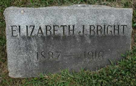 BRIGHT, ELIZABETH - Jefferson County, Kentucky | ELIZABETH BRIGHT - Kentucky Gravestone Photos