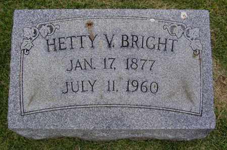 BRIGHT, HETTY - Jefferson County, Kentucky   HETTY BRIGHT - Kentucky Gravestone Photos