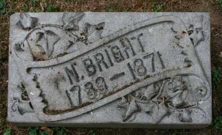 BRIGHT, N. - Jefferson County, Kentucky   N. BRIGHT - Kentucky Gravestone Photos