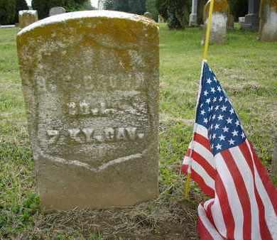 BROWN, H. C. - Jefferson County, Kentucky | H. C. BROWN - Kentucky Gravestone Photos