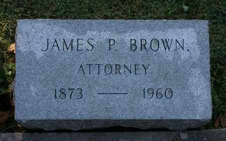 BROWN, JAMES P. - Jefferson County, Kentucky   JAMES P. BROWN - Kentucky Gravestone Photos