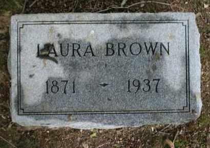 BROWN, LAURA - Jefferson County, Kentucky   LAURA BROWN - Kentucky Gravestone Photos