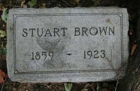 BROWN, STUART - Jefferson County, Kentucky | STUART BROWN - Kentucky Gravestone Photos