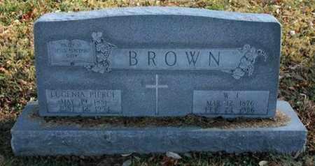 BROWN, W. J. - Jefferson County, Kentucky   W. J. BROWN - Kentucky Gravestone Photos