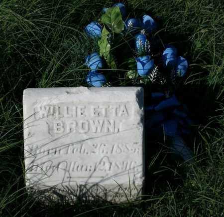 BROWN, WILLIE ETTA - Jefferson County, Kentucky | WILLIE ETTA BROWN - Kentucky Gravestone Photos