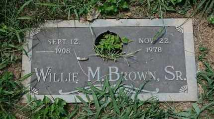 BROWN, WILLIE M. - Jefferson County, Kentucky | WILLIE M. BROWN - Kentucky Gravestone Photos