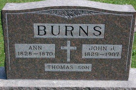 BURNS, ANN - Jefferson County, Kentucky | ANN BURNS - Kentucky Gravestone Photos