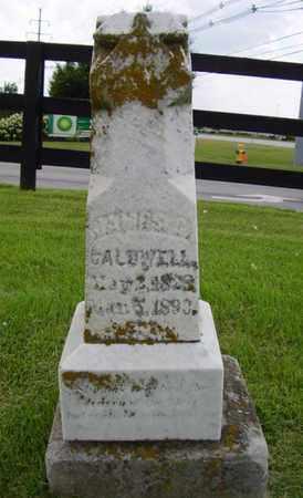 CALDWELL, JAMES - Jefferson County, Kentucky   JAMES CALDWELL - Kentucky Gravestone Photos
