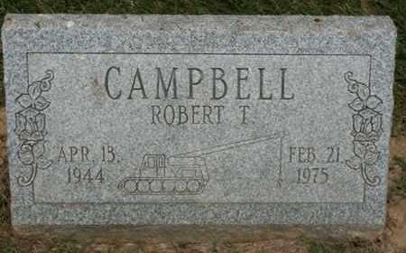 CAMPBELL, ROBERT T. - Jefferson County, Kentucky   ROBERT T. CAMPBELL - Kentucky Gravestone Photos