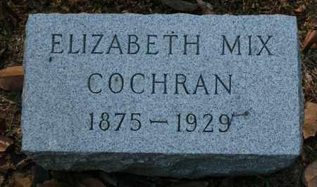 COCHRAN, ELIZABETH MIX - Jefferson County, Kentucky | ELIZABETH MIX COCHRAN - Kentucky Gravestone Photos