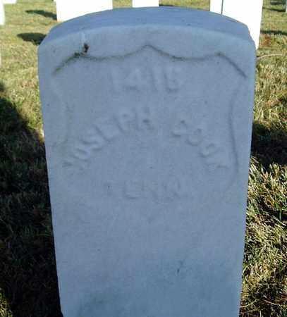 COOK (VETERAN UNION), JOSEPH - Jefferson County, Kentucky   JOSEPH COOK (VETERAN UNION) - Kentucky Gravestone Photos