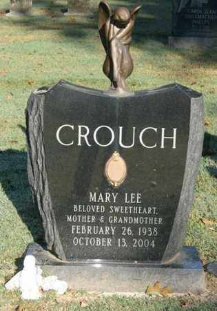 CROUCH, MARY LEE - Jefferson County, Kentucky | MARY LEE CROUCH - Kentucky Gravestone Photos