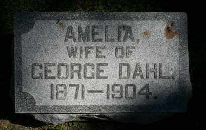 DAHL, AMELIA - Jefferson County, Kentucky | AMELIA DAHL - Kentucky Gravestone Photos