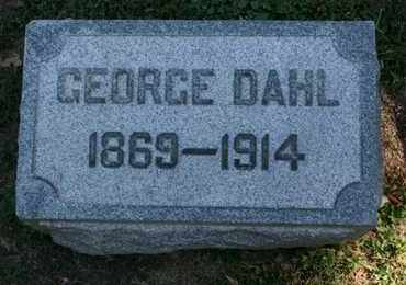 DAHL, GEORGE - Jefferson County, Kentucky | GEORGE DAHL - Kentucky Gravestone Photos