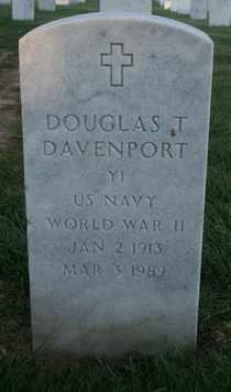 DAVENPORT (VETERAN WWII), DOUGLAS T. (NEW) - Jefferson County, Kentucky | DOUGLAS T. (NEW) DAVENPORT (VETERAN WWII) - Kentucky Gravestone Photos