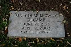 DECAMP, MALCOLM MCAVOY - Jefferson County, Kentucky | MALCOLM MCAVOY DECAMP - Kentucky Gravestone Photos