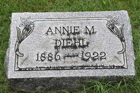 DIEHL, ANNIE - Jefferson County, Kentucky | ANNIE DIEHL - Kentucky Gravestone Photos