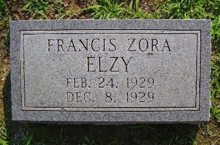ELZY, FRANCIS - Jefferson County, Kentucky | FRANCIS ELZY - Kentucky Gravestone Photos