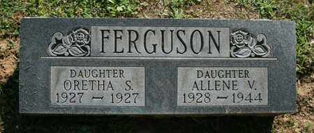 FERGUSON, ALLENE - Jefferson County, Kentucky | ALLENE FERGUSON - Kentucky Gravestone Photos