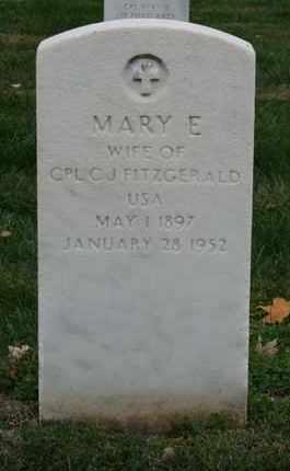 FITZGERALD, MARY E. - Jefferson County, Kentucky | MARY E. FITZGERALD - Kentucky Gravestone Photos