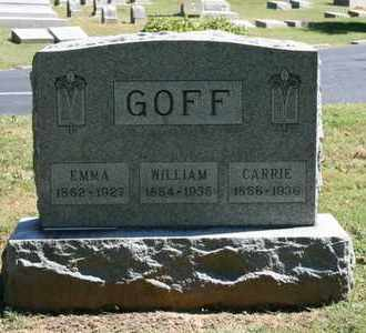GOFF, CARRIE - Jefferson County, Kentucky | CARRIE GOFF - Kentucky Gravestone Photos