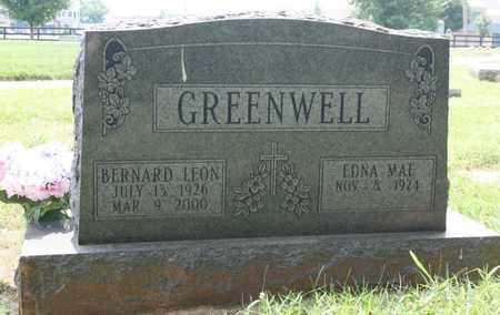 GREENWELL, BERNARD LEON - Jefferson County, Kentucky | BERNARD LEON GREENWELL - Kentucky Gravestone Photos