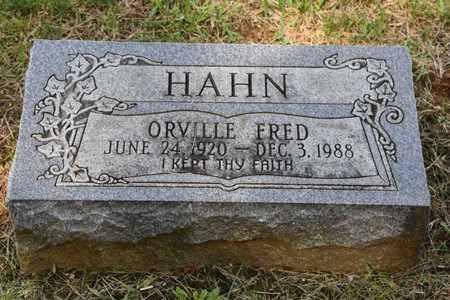 HAHN, ORVILLE - Jefferson County, Kentucky   ORVILLE HAHN - Kentucky Gravestone Photos