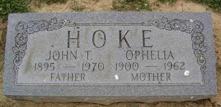 HOKE, JOHN T. - Jefferson County, Kentucky | JOHN T. HOKE - Kentucky Gravestone Photos