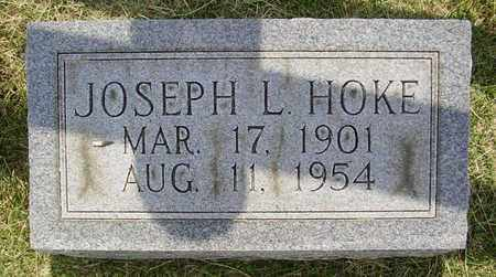 HOKE, JOSEPH L. - Jefferson County, Kentucky | JOSEPH L. HOKE - Kentucky Gravestone Photos