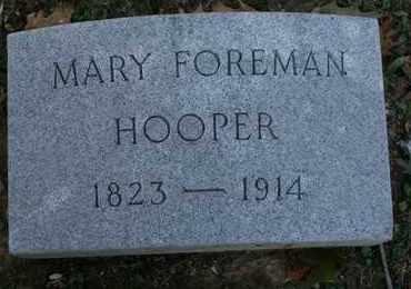 HOOPER, MARY FOREMAN - Jefferson County, Kentucky | MARY FOREMAN HOOPER - Kentucky Gravestone Photos