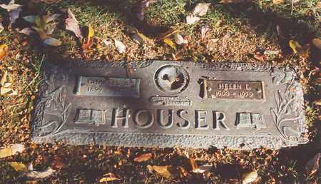 HOUSER, HELEN L - Jefferson County, Kentucky   HELEN L HOUSER - Kentucky Gravestone Photos