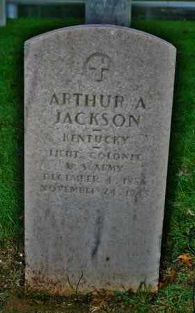JACKSON, ARTHUR A. - Jefferson County, Kentucky | ARTHUR A. JACKSON - Kentucky Gravestone Photos