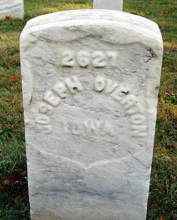 OVERTON (VETERAN UNION), JOSEPH - Jefferson County, Kentucky | JOSEPH OVERTON (VETERAN UNION) - Kentucky Gravestone Photos