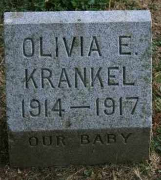KRANKEL, OLIVIA E. - Jefferson County, Kentucky | OLIVIA E. KRANKEL - Kentucky Gravestone Photos