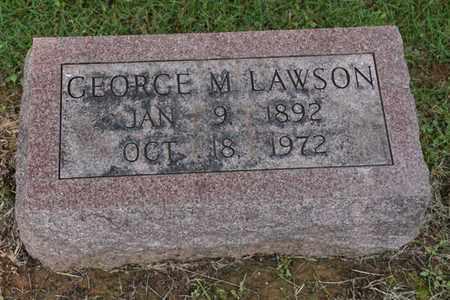 LAWSON, GEORGE - Jefferson County, Kentucky   GEORGE LAWSON - Kentucky Gravestone Photos