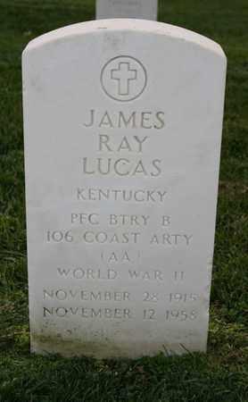 LUCAS (VETERAN WWII), JAMES RAY (NEW) - Jefferson County, Kentucky | JAMES RAY (NEW) LUCAS (VETERAN WWII) - Kentucky Gravestone Photos