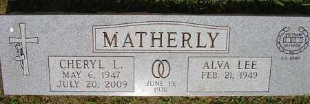 MATHERLY, CHERYL L. - Jefferson County, Kentucky   CHERYL L. MATHERLY - Kentucky Gravestone Photos