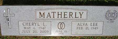MATHERLY, CHERYL L. - Jefferson County, Kentucky | CHERYL L. MATHERLY - Kentucky Gravestone Photos