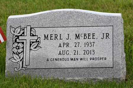 MCBEE, MERL - Jefferson County, Kentucky | MERL MCBEE - Kentucky Gravestone Photos
