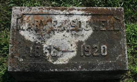 MCDOWELL, MARY - Jefferson County, Kentucky | MARY MCDOWELL - Kentucky Gravestone Photos