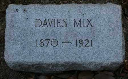 MIX, DAVIES - Jefferson County, Kentucky | DAVIES MIX - Kentucky Gravestone Photos