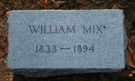 MIX, WILLIAM - Jefferson County, Kentucky | WILLIAM MIX - Kentucky Gravestone Photos