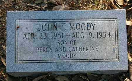 MOODY, JOHN T. - Jefferson County, Kentucky | JOHN T. MOODY - Kentucky Gravestone Photos