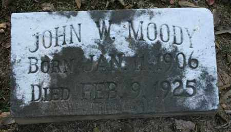 MOODY, JOHN W. - Jefferson County, Kentucky | JOHN W. MOODY - Kentucky Gravestone Photos