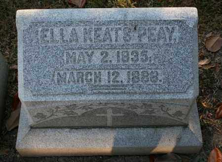 PEAY, ELLA KEATS - Jefferson County, Kentucky | ELLA KEATS PEAY - Kentucky Gravestone Photos