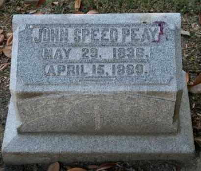 PEAY, JOHN SPEED - Jefferson County, Kentucky | JOHN SPEED PEAY - Kentucky Gravestone Photos