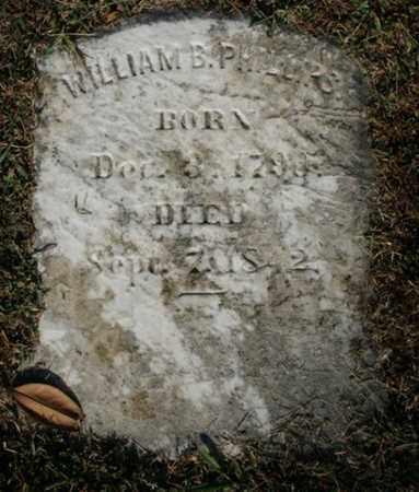 PHILLIPS, WILLIAM B. - Jefferson County, Kentucky | WILLIAM B. PHILLIPS - Kentucky Gravestone Photos