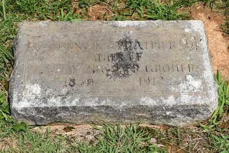 PRATHER, SPRINGER - Jefferson County, Kentucky | SPRINGER PRATHER - Kentucky Gravestone Photos