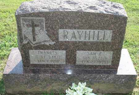 RAYHILL, FRANCES - Jefferson County, Kentucky | FRANCES RAYHILL - Kentucky Gravestone Photos