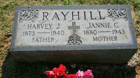 RAYHILL, JANNIE - Jefferson County, Kentucky | JANNIE RAYHILL - Kentucky Gravestone Photos